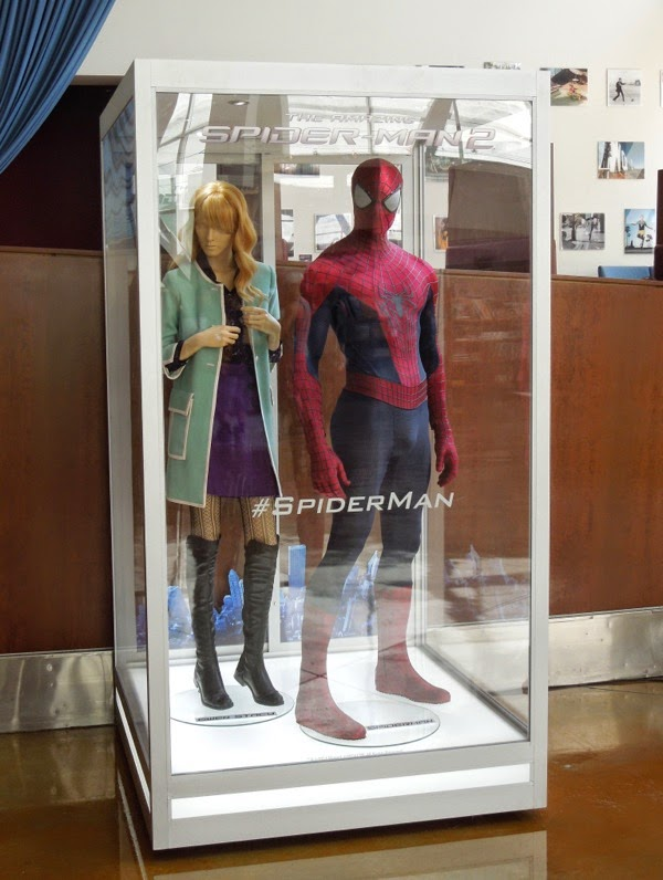 Original Amazing Spider-man 2 movie costumes