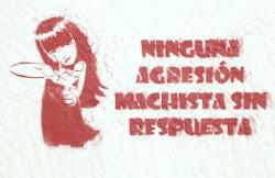 ninguna agresión machista sin respuesta