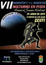29-06-2019 VII MARATÓN EN PISTA DE CEUTÍ