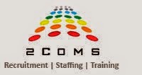 2COMS Consulting Pvt Ltd Openings For Freshers  - 27th, 28th Jan 2015