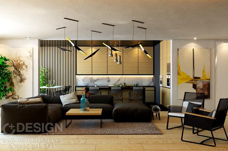 Thiết kế & thi công nội thất căn hộ chung cư