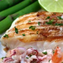 Receta de pescado a la parrilla cocina - Parrillas para pescado ...
