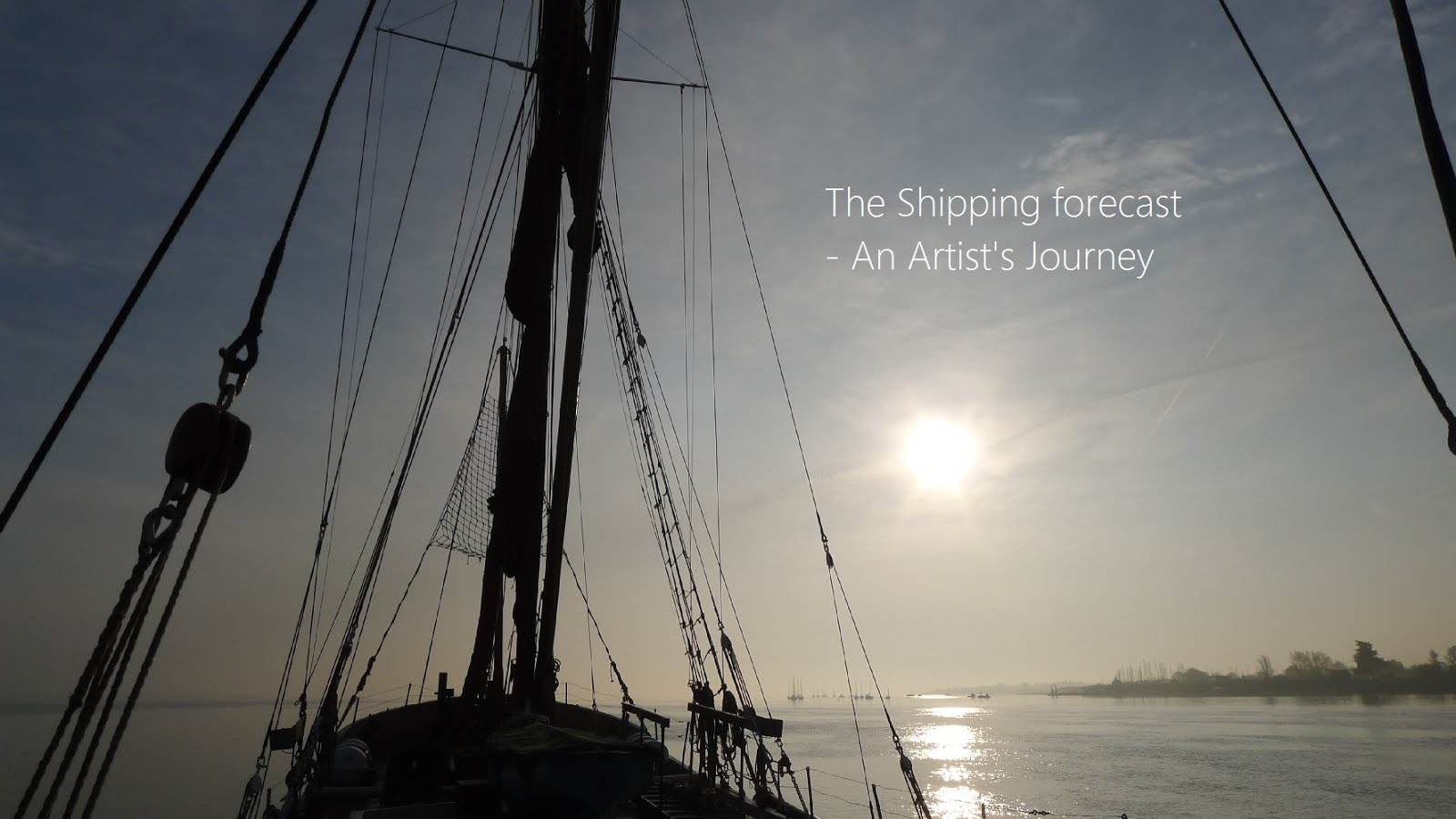 The Shipping Forecast - An artist's journey