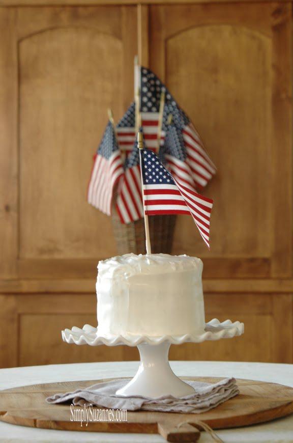 a simple & festive cake