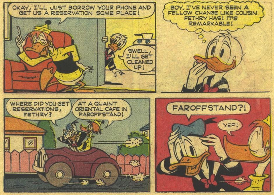 "Duck Comics Revue: ""Donald's Buzzin' Cousin"""
