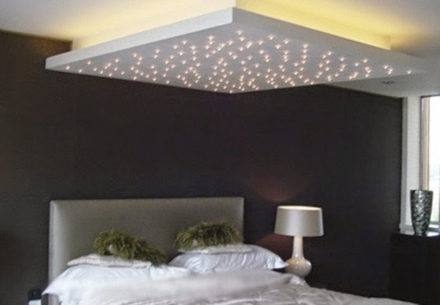 eclairage chambre plafond image sur le design maison. Black Bedroom Furniture Sets. Home Design Ideas