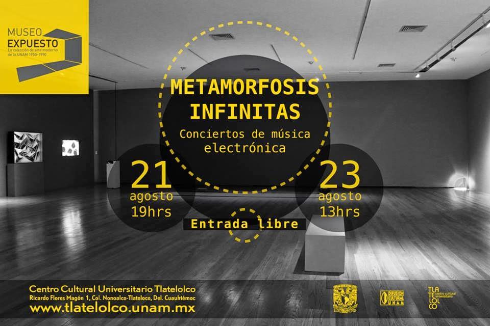 Conciertos de música electrónica en el CCU Tlatelolco