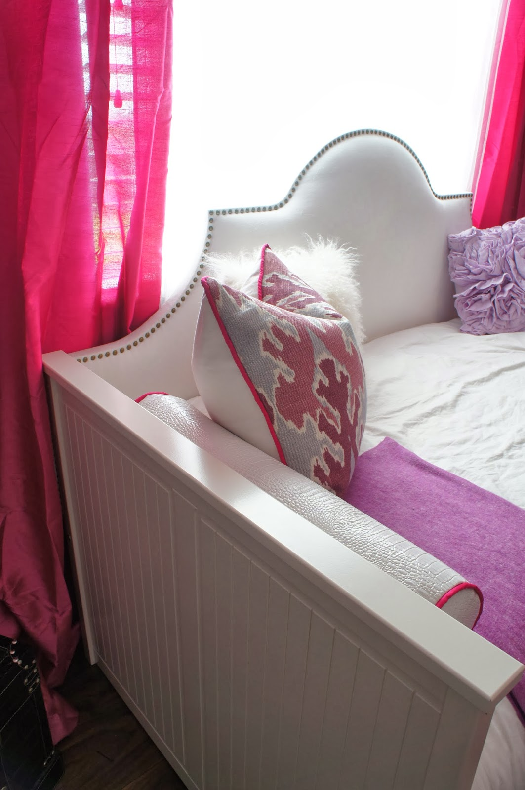 Ideal Ikea Hemnes Day Bed With Upholstered Headboard DIY