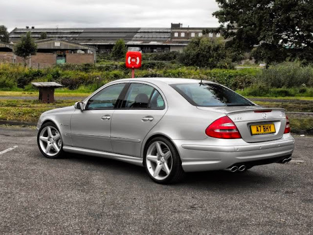 Mercedes Benz W211 E55 Amg On Cls Wheels Benztuning