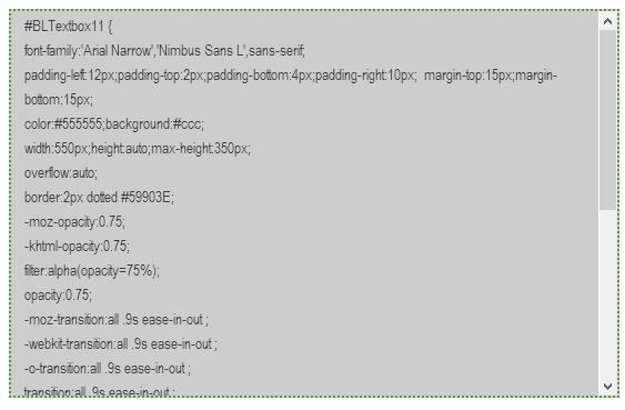 Code box đẹp để chèn code vào bài viết dạng HTML