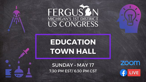 UPDATED: Education Town Hall with Dana Ferguson now online