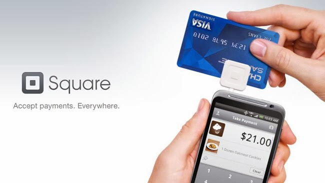 square payment processing account