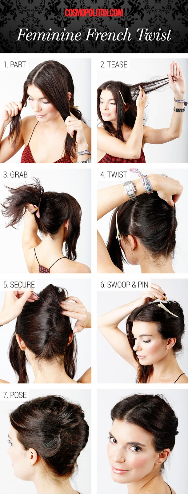 6 Hairstyle Step By Step Make GIrl39Z