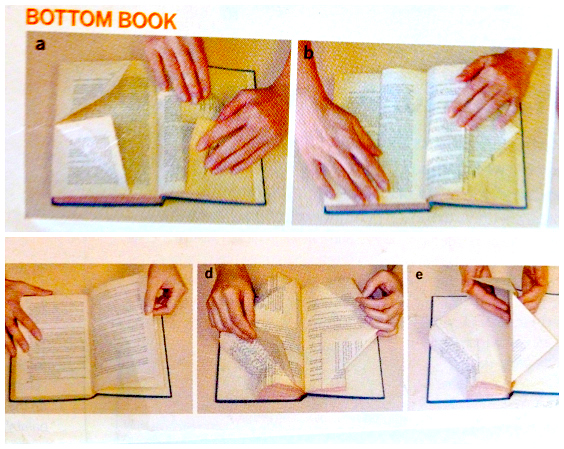 Upcycle Book Folding From Budget Living The Refab Diaries