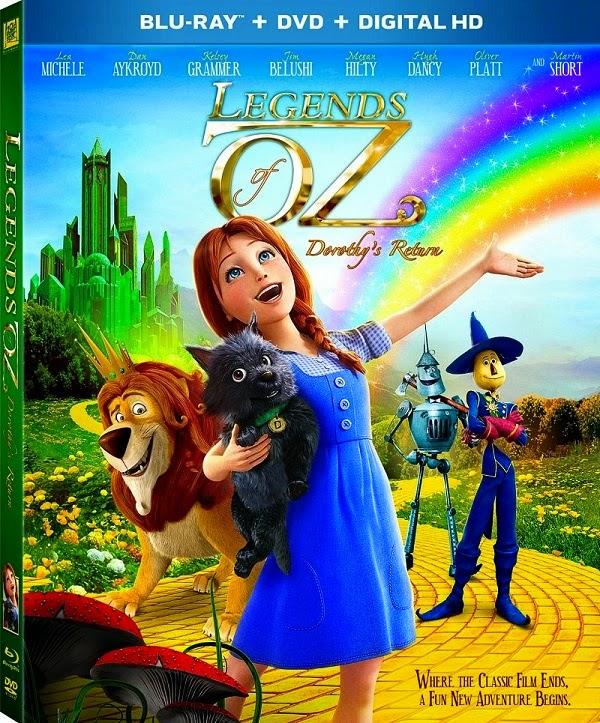Legends of Oz: Dorothy's Return ตำนานแดนมหัศจรรย์ พ่อมดอ๊อซ HD 2013 FullHD1080p