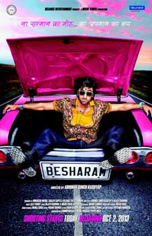 Besharam Cast and Crew
