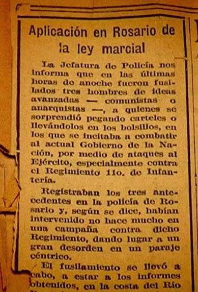 La Capital, 10 de Septiembre de 1930