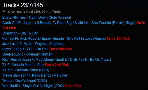 Download [Mp3]-[Hot Single NEW TRACK RELEASE] เพลงสากลเพราะๆ ออกใหม่มาแรงประจำวันที่ 23 July 2014 [Solidfiles] 4shared By Pleng-mun.com