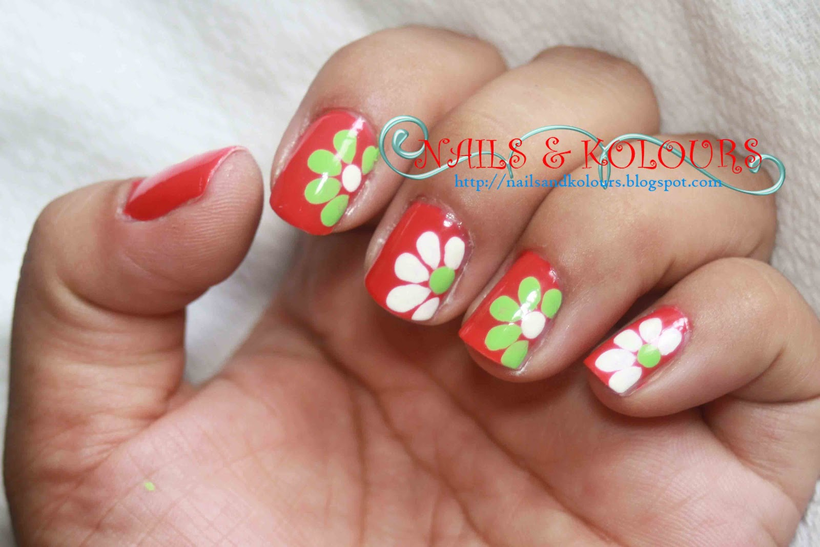 Pictures Of Nail Designs With Flowers