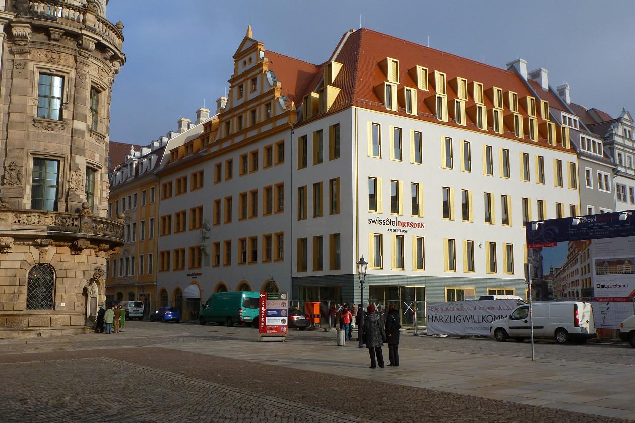 Pröbster Neumarkt bausituation dresden januar 2012