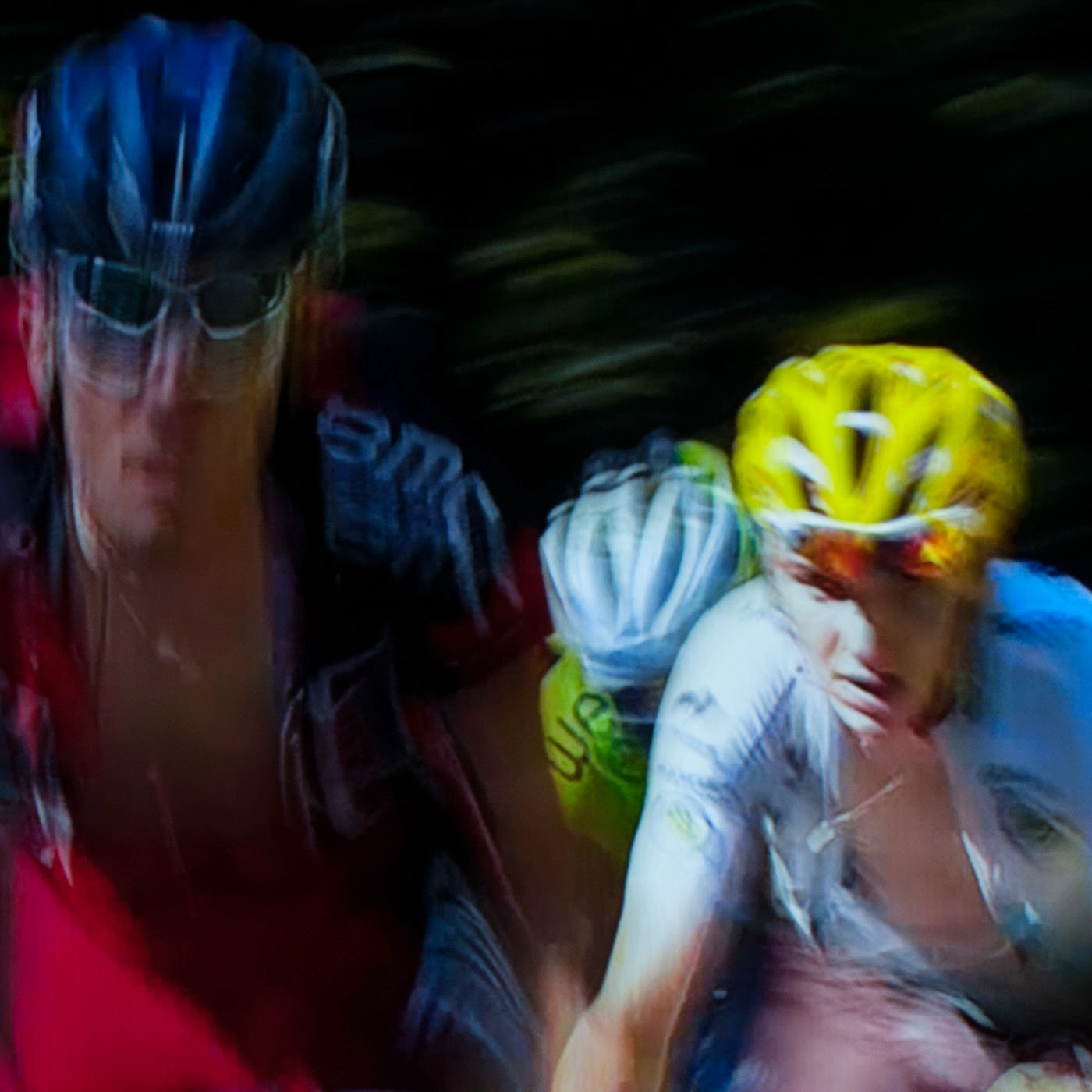 le tour, motion blur, blur, abstract, abstraction, tim macauley, photographic art, you won't see this at MoMA, appropriation, found imagery, le tour 2014, tv footage, portrait