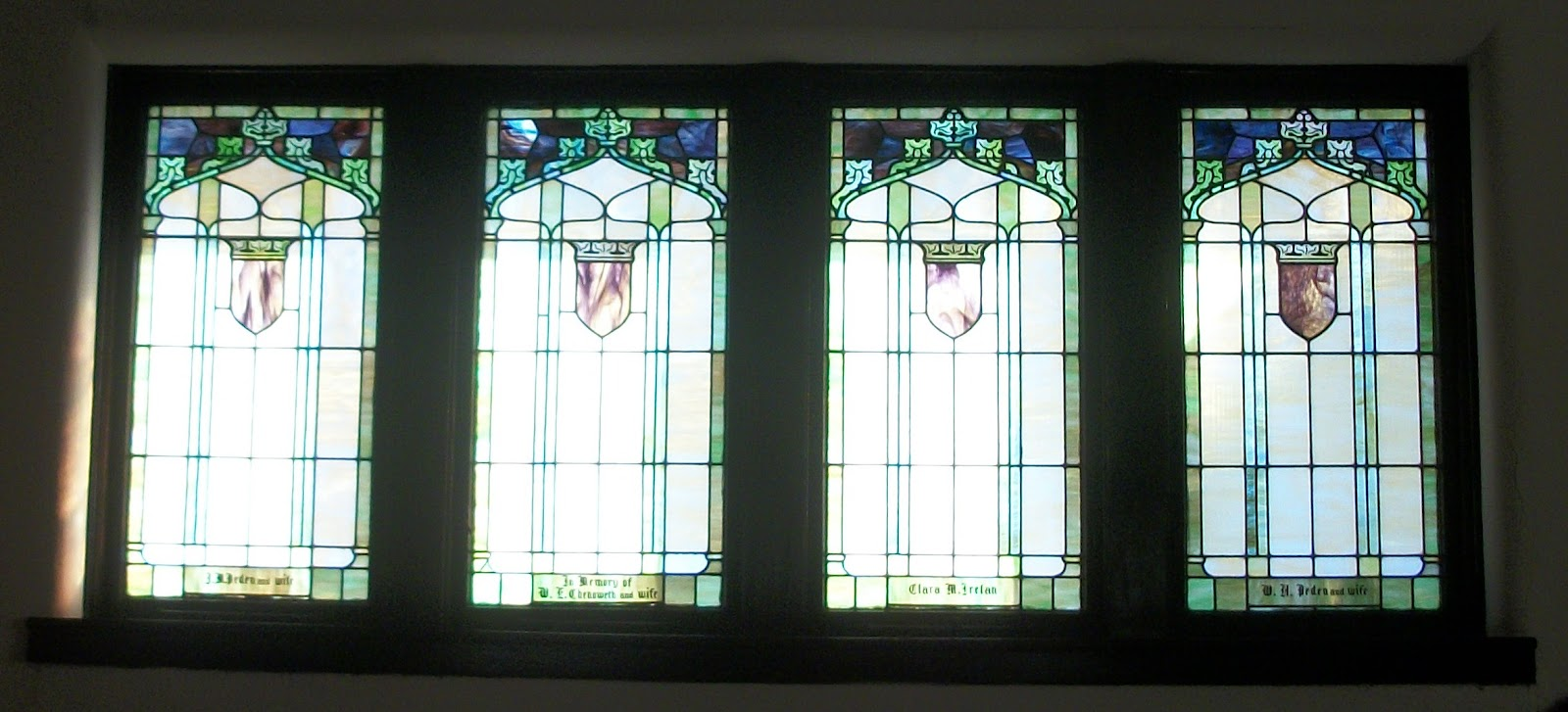 Simple But Elegant Stained Glass Windows