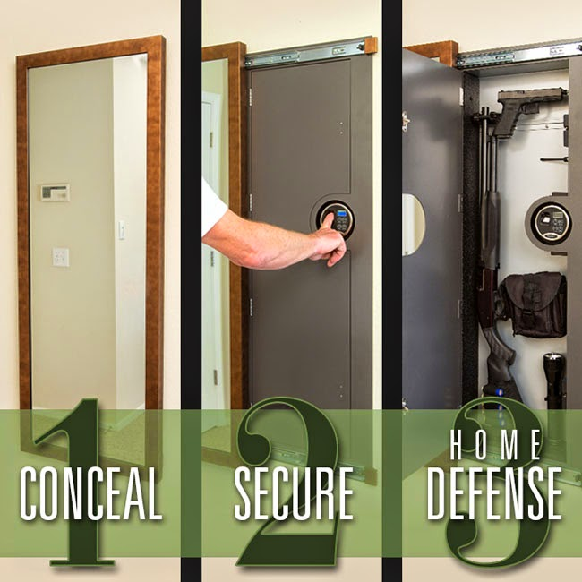 concealed gun vaults can you quickly access your secured gun when