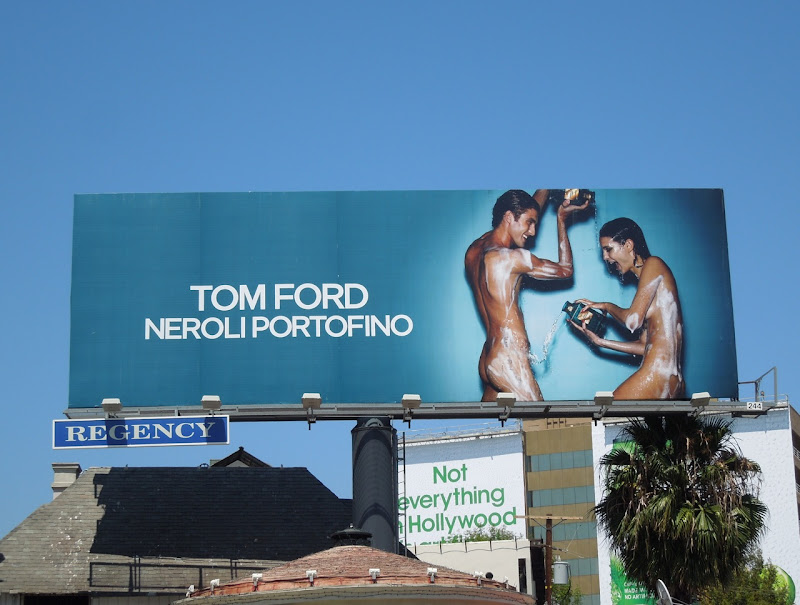 Tom Ford Neroli Portofino fragrance billboard