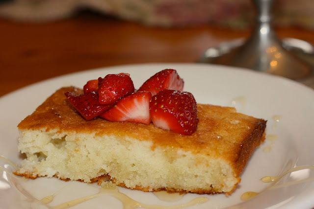 Financier: Almond Cake