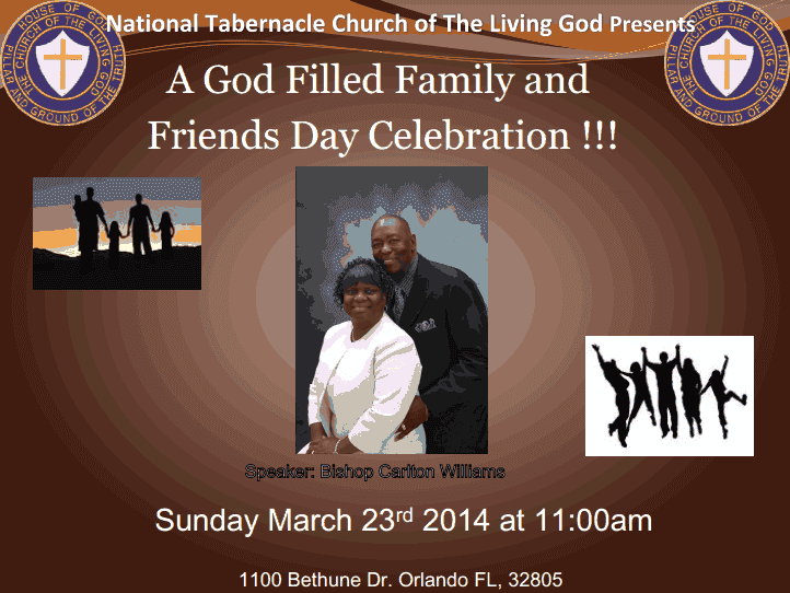 family and friends day at church speech What could he say to peers, friends, fans and family at the hall of fame  and  become a devoted member of a nondenominational church, but rarely  one day  when irvin was 13, he ditched school, and walter punished him.