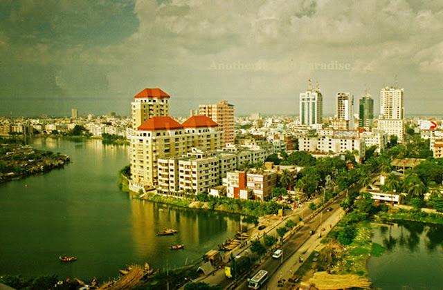 Gulshan area, Dhaka