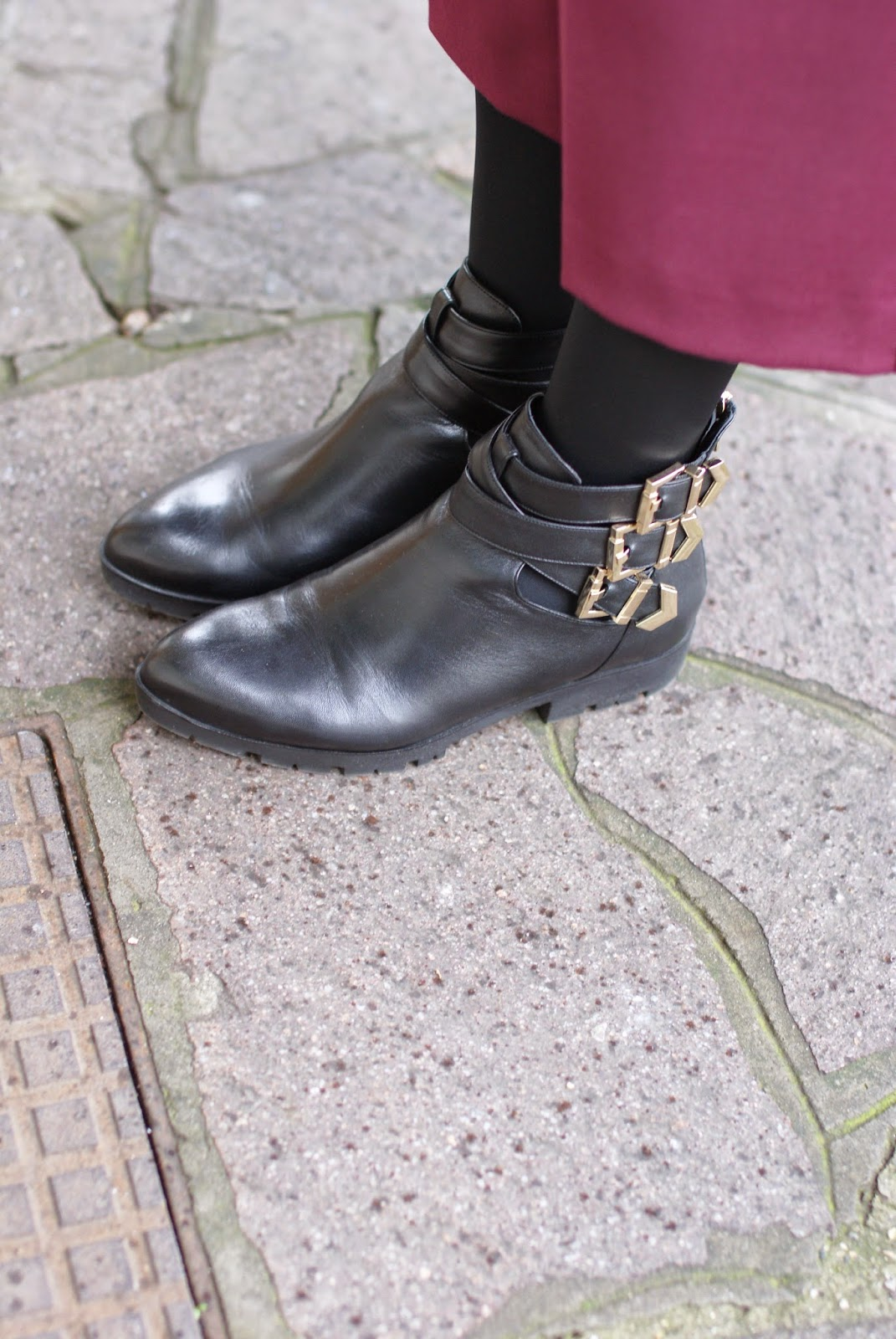 Albano buckled ankle boots, Fashion and Cookies, fashion blogger