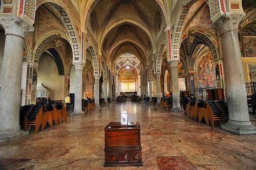 Интерьер Санта Мария делле Грацие