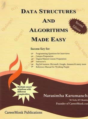 Algorithms and Data Structures Made Easy by Narasimha PDF