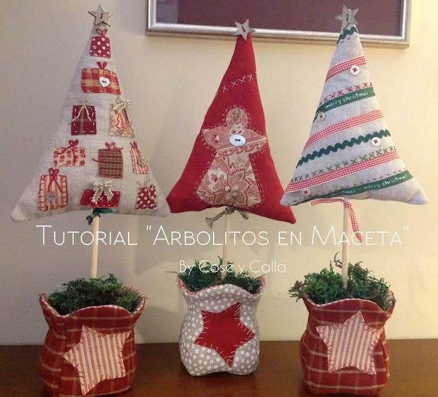 Cose y calla de nuevo navidad - Detalles de navidad manualidades ...