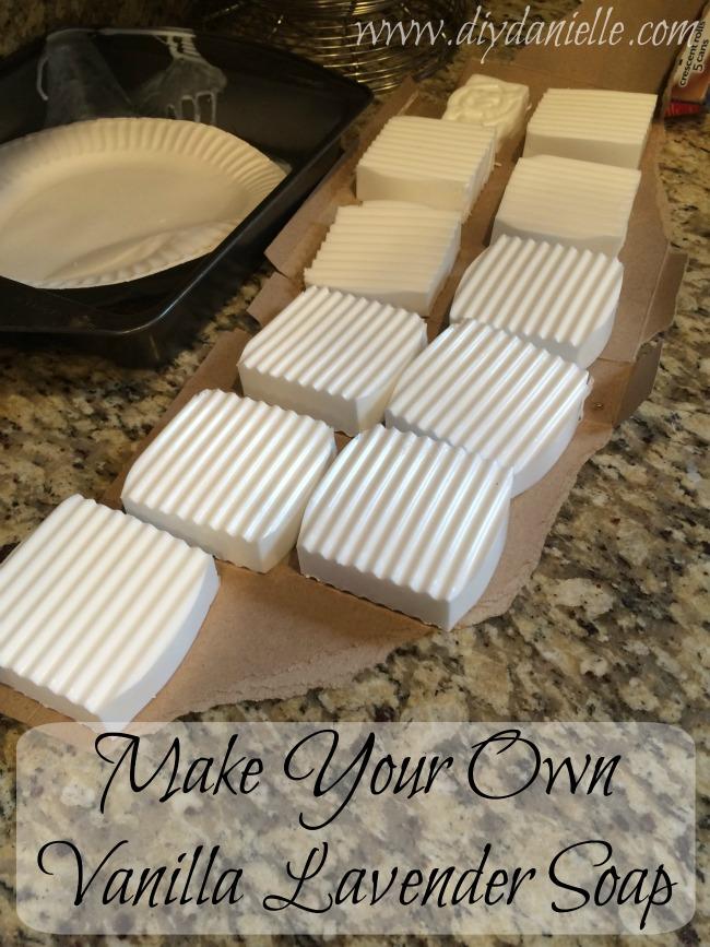 DIY Vanilla Lavender Soap