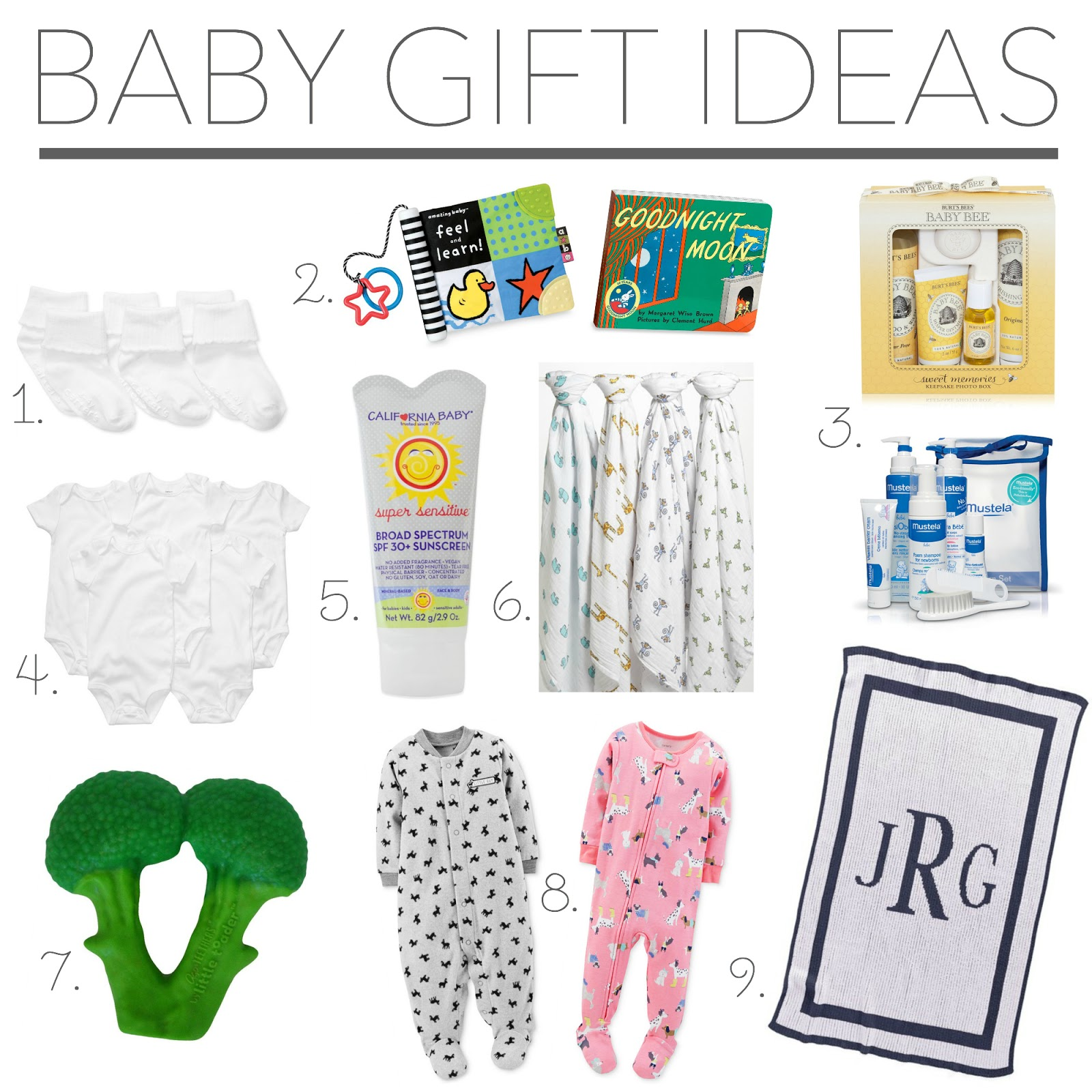 Baby Gift List Poem : Baby shower gift ideas her