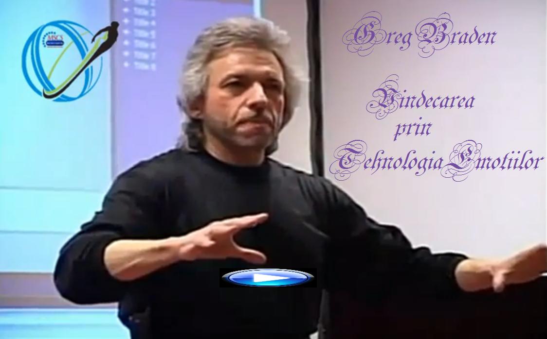 GREG BRADEN - VINDECAREA prin Tehnologia Emotiilor