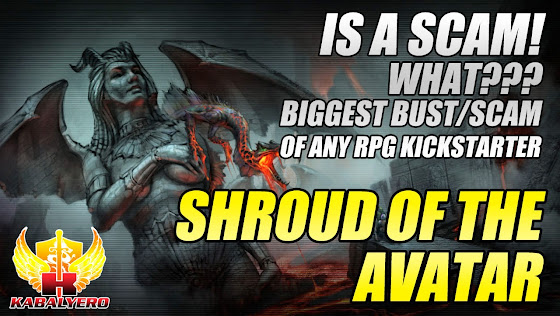 Shroud Of The Avatar Is A Scam, What??? Biggest Bust/Scam Of Any RPG Kickstarter