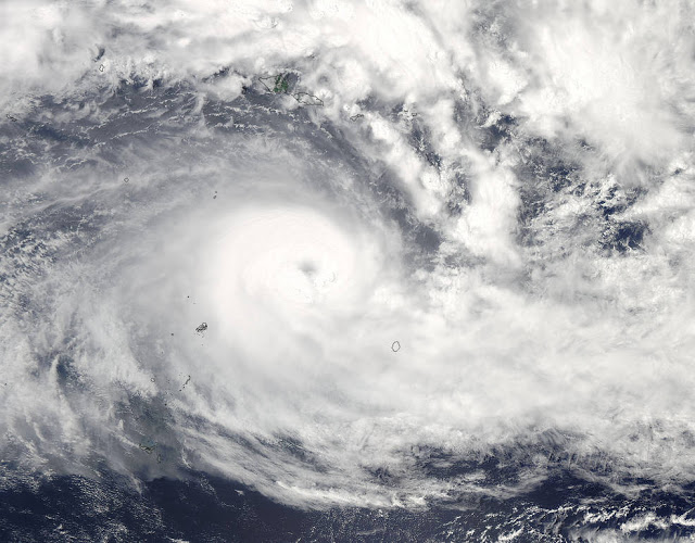 The most powerful storm on record in the Southern Hemisphere: Never before seen distruction on Fiji