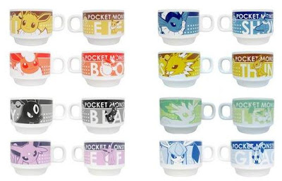 Eeveelutions Mug Cup Set Movic