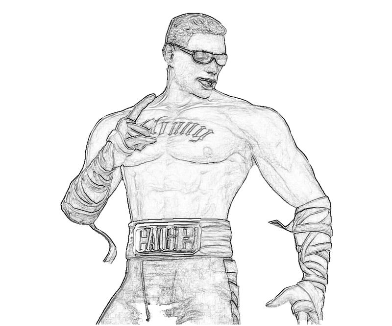 Mortal Combat Johnny Cage Power | Surfing