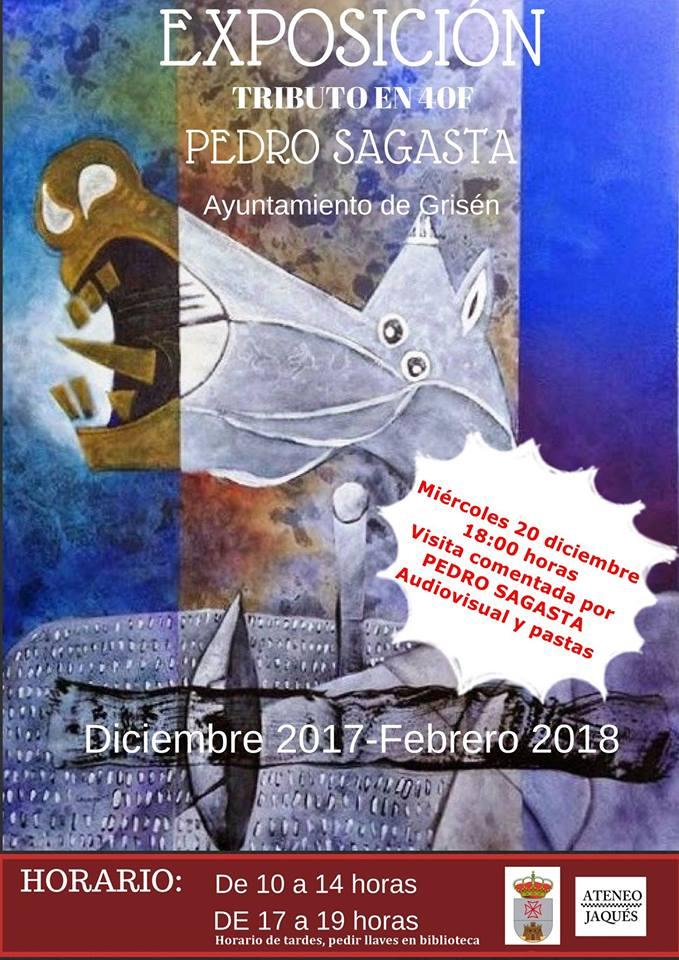 """Ayuntamiento de Grisén: Exposición """"Tributo en 40F"""" de Pedro Sagasta"""