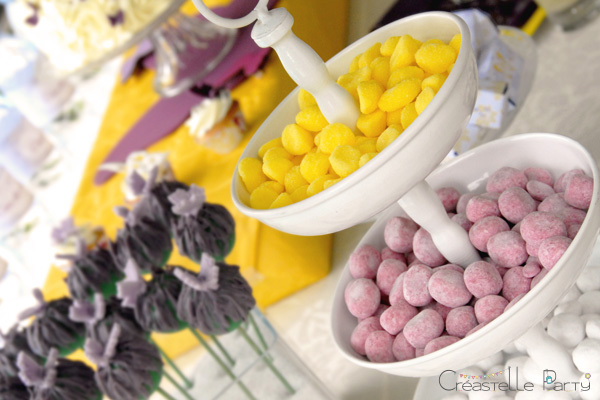 bonbons sweet table papillon / butterfly