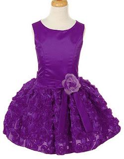 Vestidos Purpura, Ocasiones Especiales, Niñas
