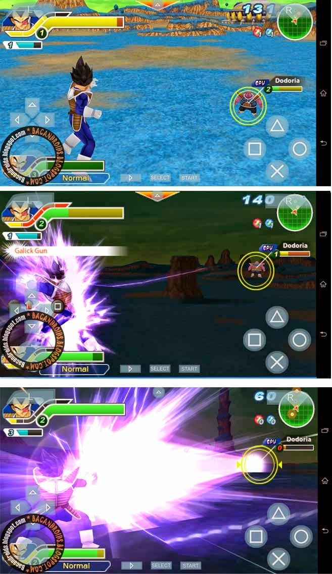 Dragonball z for PSP ISO/CSO