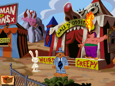 Sam & Max Hit the Road Gameplay