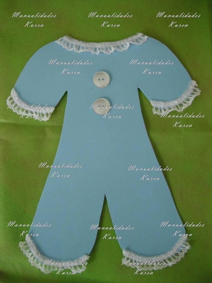 Manualidades Karen: Mameluco Adorno Para Baby Shower