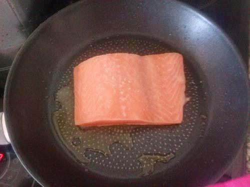salmón, alcaparras, nata, recetas saludables, recetas, recetas caseras, pescado,