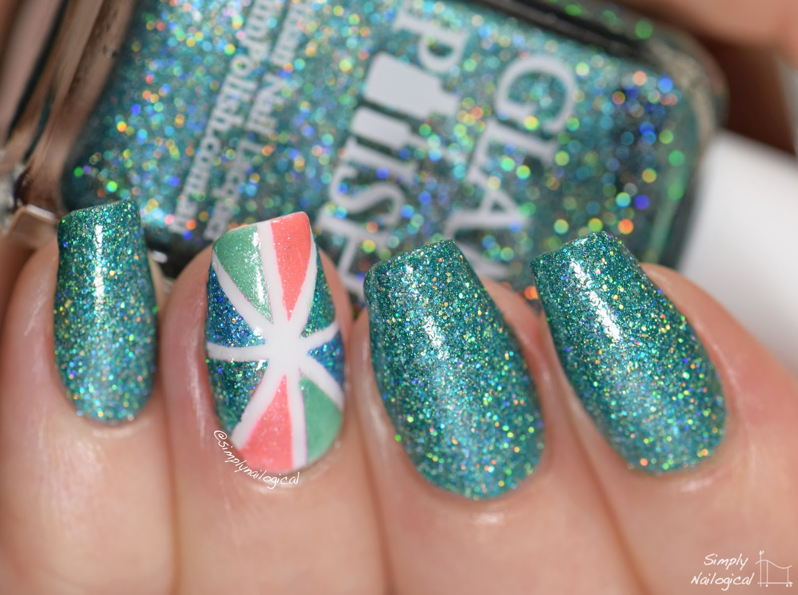 Glam Polish December 2014 Polar lights swatch